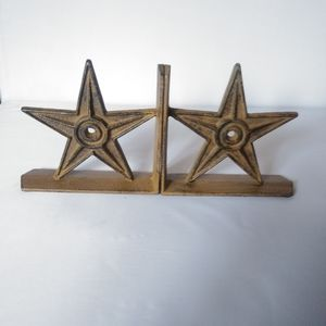 Lonestar Rustic Western Bookends